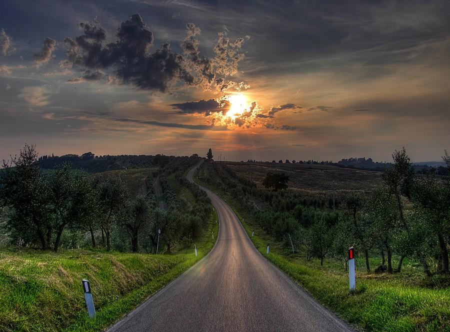 lonnnng road